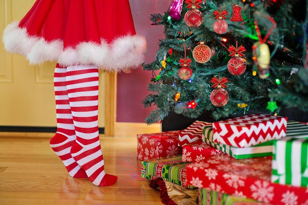 sapin cadeaux noel