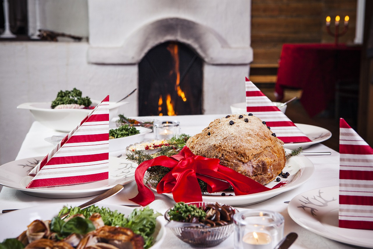 table cuisine noel decoration